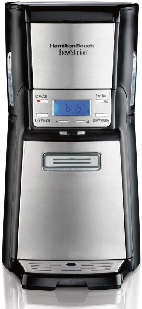 2. Hamilton Beach Coffee Maker (48465)